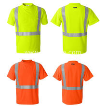 hi vis new design reflective safety t-shirt