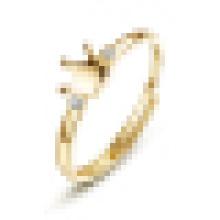 Echtes 925 Sterling Silber Doppel Edelstein Pflastern Crown Fingerring für Frauen Hochzeit Verlobungsring Anel Feminino