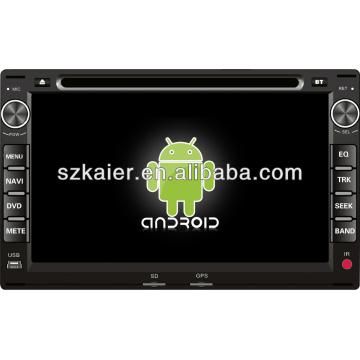 reproductor de DVD para coche para el sistema Android VW Passat / Spacecross