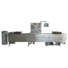 Dlz-520 Full Automatic Continuous Stretch Fresh Fish Vacuum Packaging Machine