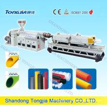 Гофрированная PVC производственная линия трубы полива