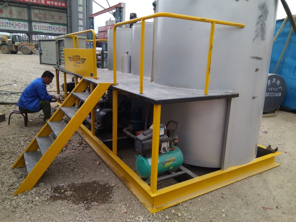 Automatic asphalt emulsion production