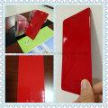 Декоративное красное порошковое покрытие с высоким блеском