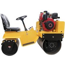 Mini rodillo compactador autopropulsado vibratorio de 700 kg