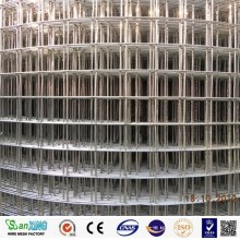 Black Galvanized Welded Wire Mesh PVC Coated