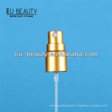 13/415 matt gold perfume bottle sprayer pump for sample use