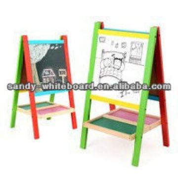 Holzrahmen Whiteboard schwarz Schiefer Tafel XD-PT13-2