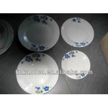 Haonai brazil ceramic dinner plate sets,white dinnerware set