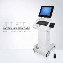 Detector profesional de piel y cáscara de chorro de oxígeno