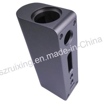 Mecanizado CNC de aluminio para accesorios del kit E-Cig