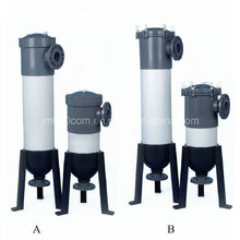 Filtro plástico industrial del filtro del PVC para el tratamiento de agua