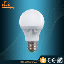 E27 Lighting Fixture LED Bulb Housing with White Plastic