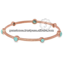 Designer Turquoise Gemstone Sterling Silver Jewelry For Wholesale