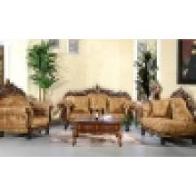 Sofá de casa com moldura de sofá de madeira e mesa de canto (D929H)