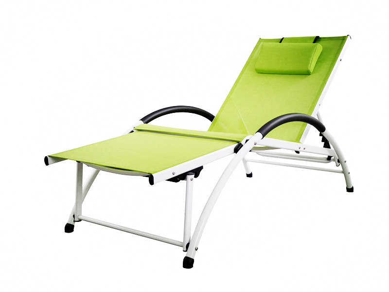 multifunction alu textilene lounge