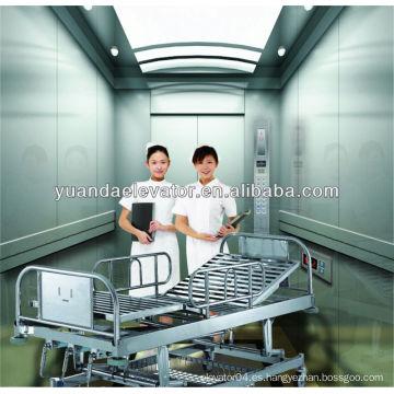 Levantamiento de cama de hospital