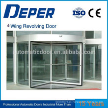 Porta de vidro deslizante automática de quatro asas (com caixa de exposição)