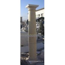 Pedra mármore granito arenito romano coluna (QCM115)