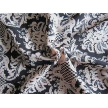 Poliéster auxilia Twists imitado tecido de cânhamo para vestuário (XSFH-001)