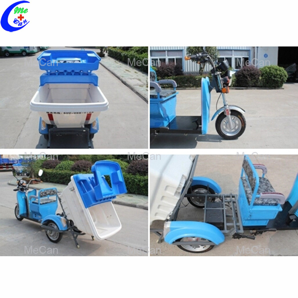 Electric garbage vehicle