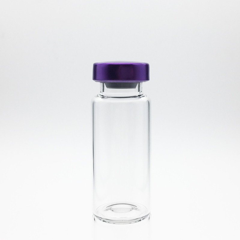 8ml Sterile Serum Vials Purple