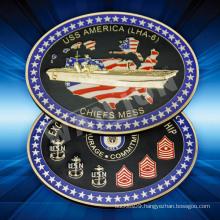China suppliers USA custom souvenir gold Coin