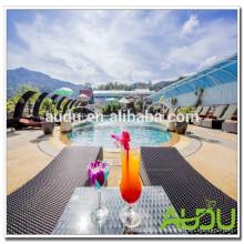 Audu Tailandia Sunny Hotel Project Silla de playa de mimbre