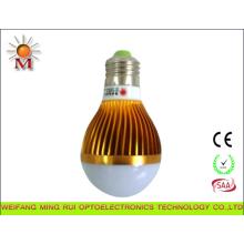 Lâmpada Bulbo de LED 5W com Corrente Constante LED Driver E27