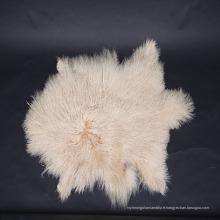 2018 Wholesale rembourrage mongol agneau fourrure peau de mouton