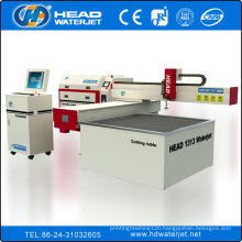 Waterjet better than laser carpet tile cutting machine