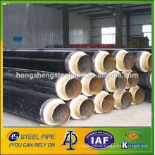 ERW aislamiento térmico revestido de acero api5l lsaw tuberías