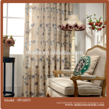 2016 curtain fabric online from china supplier