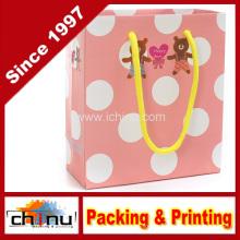 Papel de arte / papel branco 4 saco impresso cor (2270)