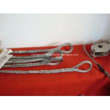 Chaussettes en treillis métallique OPGW