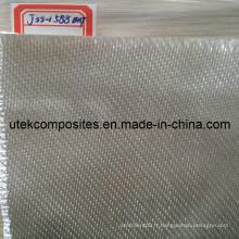 Plus de 96% de dioxyde de silicium 1250GSM Tissu en fibre de verre à haute teneur en silice