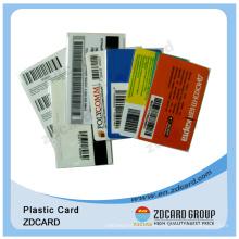Tarjetas de pago pagadas por adelantado / Tarjeta de llamadas Scratch / Tarjetas de plástico
