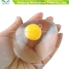 Novedad huevo en forma de apretar juguetes alivio del estrés apretar la bola de ventilación regalo divertido