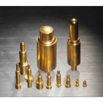 Brass Spring Contact Pin for Power Charging of Wearables