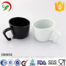 2015 New Design Wholesale Custom LOGO glazed eco ceramic coffee cup