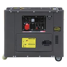 5kw silencioso motor diesel gerador de energia (DG6500SE)