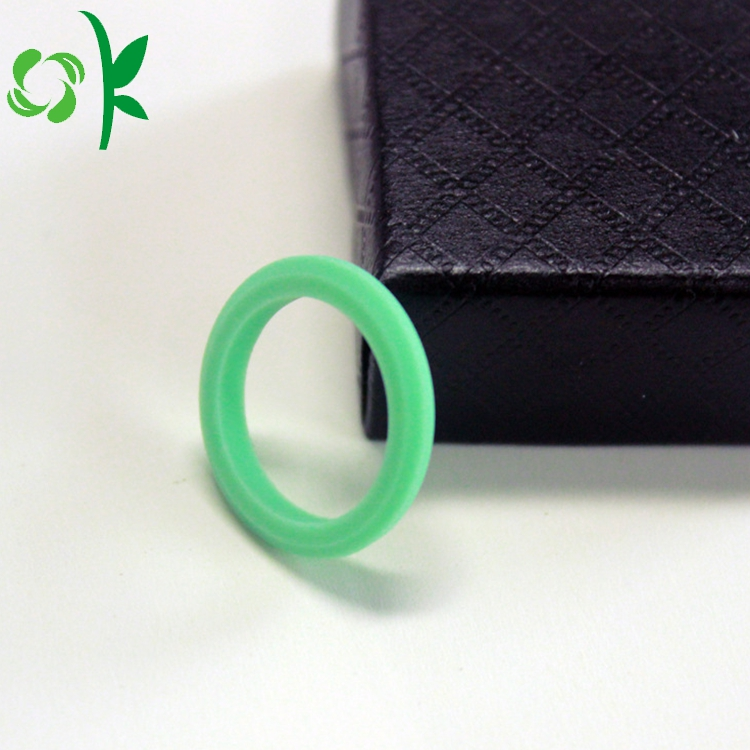 Green Silicone Queen Ring