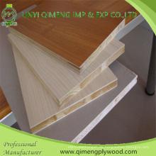 19mm Melamin Papier Gesicht Block Board Sperrholz für Möbel