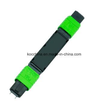 Atenuador MPO de fibra ótica
