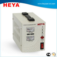 Single phase relay type full 220v ac automatic voltage regulators(avr) with analog display