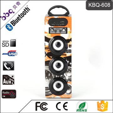 Altavoz subwoofer Bluetooth KBQ-608 15W 1200mAh para barbacoa