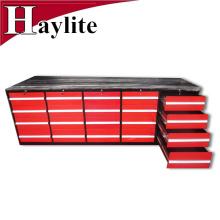 mesa de banco de trabajo del cajón del banco de la herramienta de acero resistente para el garaje