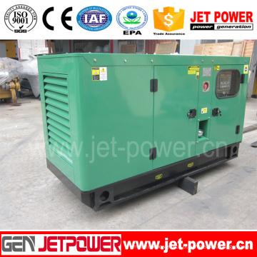 Gerador diesel portátil silencioso de baixo nível de ruído de 8kw 10kVA