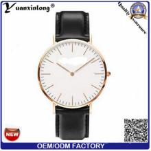 YXL-655 chinois de gros cuir véritable montres pour hommes, luxe montres hommes, montres pour homme 3 ATM résistant à l'eau