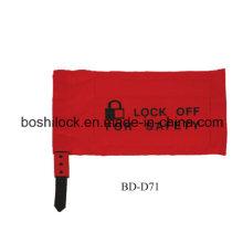 Bolsa de bloqueo de seguridad resistente al desgaste
