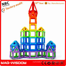 Sécurité des jouets en plastique magnétique et protection de l'environnement